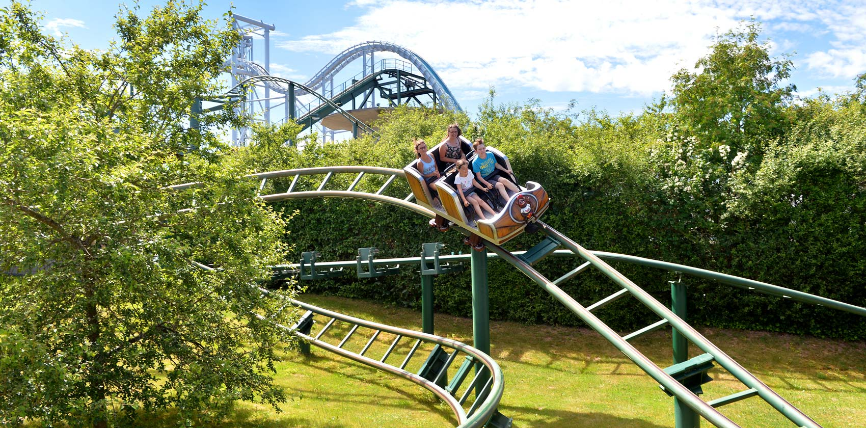 """Rollercoaster """"The hot ride"""""""